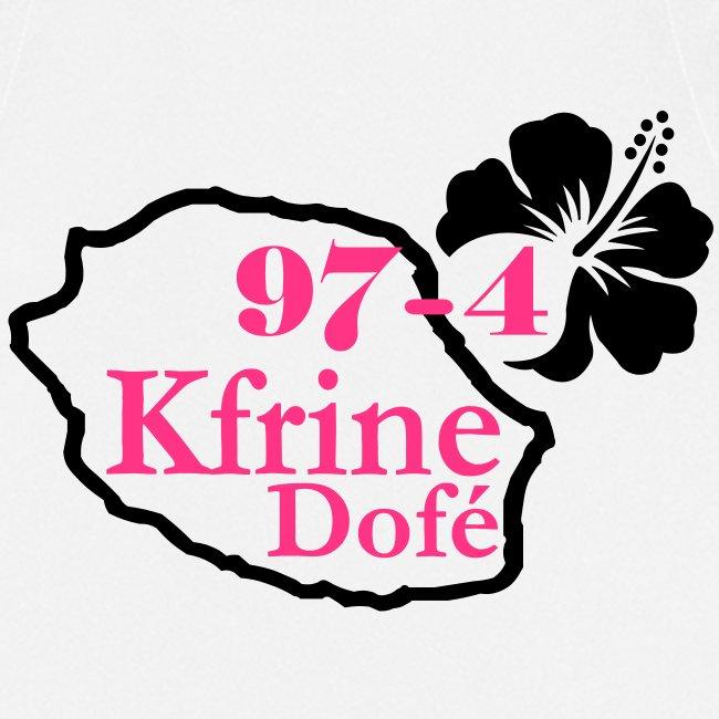 Tablier de cuisine Kfrine Dofé - 974 La Réunion