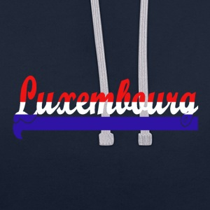 Luxembourg Sweat-shirts - Sweat-shirt contraste