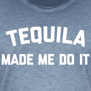 Tequila Do It Funny Quote T-Shirts - Männer Vintage T-Shirt