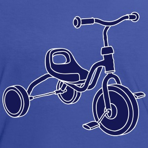 tricycle d'enfants 2 Tee shirts - T-shirt contraste Femme