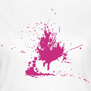 Farbklecks  T-Shirts - Frauen T-Shirt