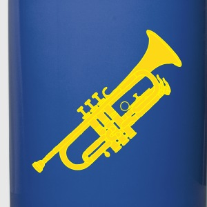 Trumpet brass instrument 2 Mugs & Drinkware - Full Colour Mug