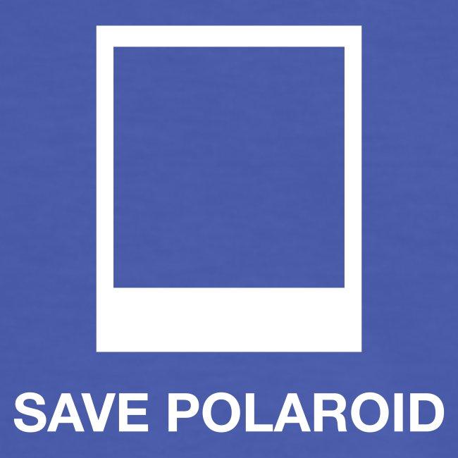 save polaroid blue