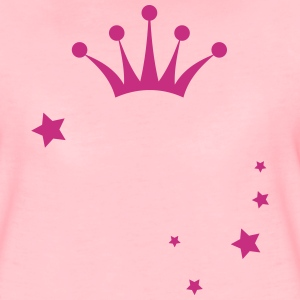 Princess Crown and Stars T-skjorter - Premium T-skjorte for kvinner
