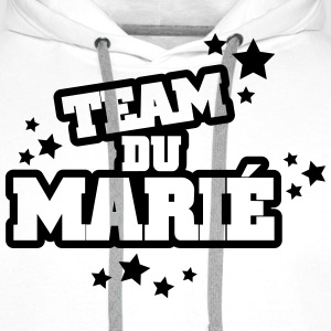 team du marié (vers.5) Sweat-shirts - Sweat-shirt à capuche Premium pour hommes