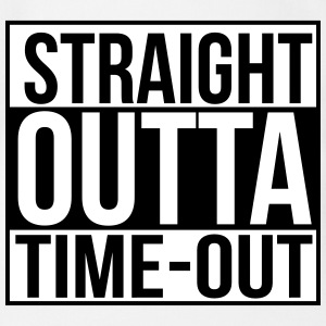 Straight outta time-out Babybody - Økologisk kortermet baby-body