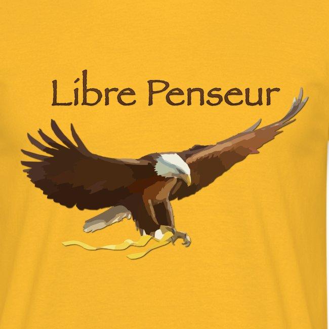 """T-shirt Homme Nuréa : """"Libre Penseur"""""""