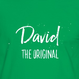 David T-Shirts - Männer Kontrast-T-Shirt