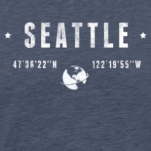 Seattle  T-shirts - Herre premium T-shirt