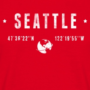 Seattle  T-shirts - T-shirt herr