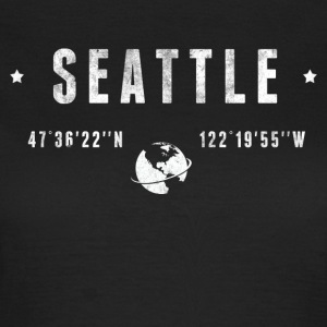Seattle  T-shirts - Dame-T-shirt