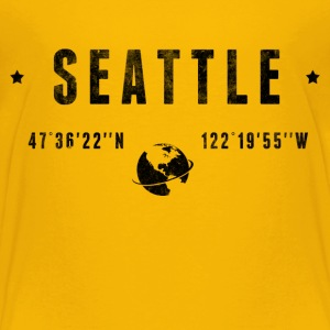 Seattle T-shirts - Børne premium T-shirt