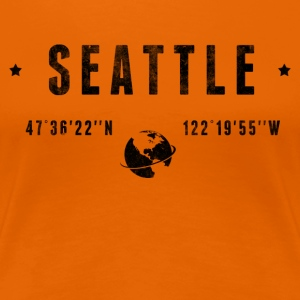 Seattle T-shirts - Vrouwen Premium T-shirt