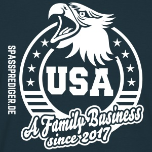 Family Business USA - Männer T-Shirt