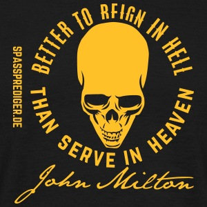 Reign in Hell, Milton T-Shirts - Men's T-Shirt
