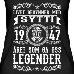 1947 - 70 ar - Legender - 2017 - NO Topper - Øko-singlet for kvinner