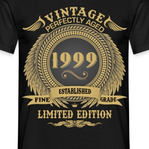 Vintage Perfectly Aged 1999 Limited Edition T-Shirts - Men's T-Shirt