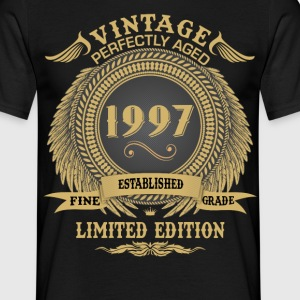 Vintage Perfectly Aged 1997 Limited Edition T-Shirts - Men's T-Shirt