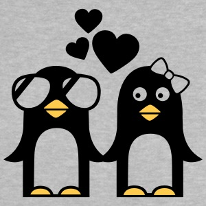 valentinstag pinguine Baby T-Shirts - Baby T-Shirt