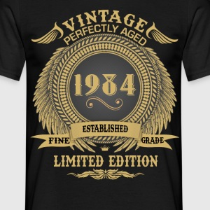 Vintage Perfectly Aged 1984 Limited Edition T-Shirts - Men's T-Shirt
