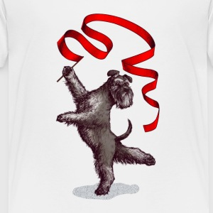 Schnauzer Rhythm Gym T-Shirts - Teenager Premium T-Shirt
