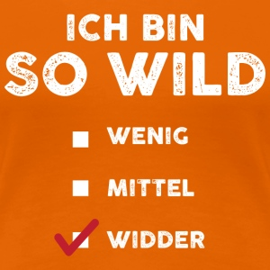 So wild Widder T-Shirts - Frauen Premium T-Shirt
