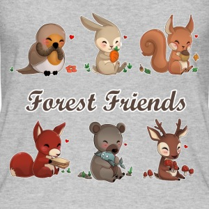 forest friends Tops - Frauen Bio Tank Top