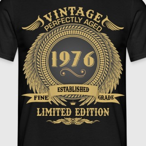 Vintage Perfectly Aged 1976 Limited Edition T-Shirts - Men's T-Shirt