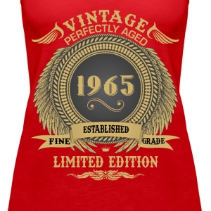 Vintage Perfectly Aged 1965 Limited Edition Tops - Women's Premium Tank Top