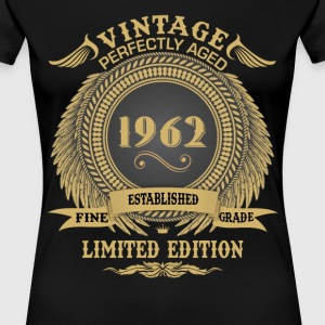 Vintage Perfectly Aged 1962 Limited Edition T-Shirts - Women's Premium T-Shirt
