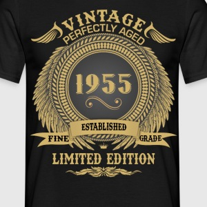 Vintage Perfectly Aged 1955 Limited Edition T-Shirts - Men's T-Shirt