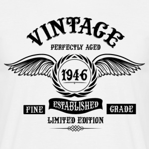 Vintage Perfectly Aged 1946 T-Shirts - Men's T-Shirt