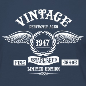 Vintage Perfectly Aged 1947 Long Sleeve Shirts - Women's Premium Longsleeve Shirt