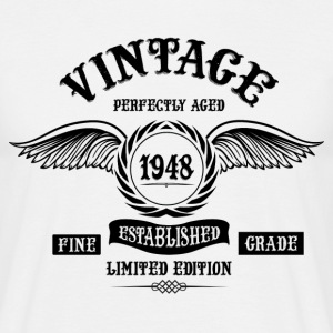 Vintage Perfectly Aged 1948 T-Shirts - Men's T-Shirt