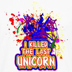 I killed the last unicorn Long sleeve shirts - Men's Premium Longsleeve Shirt