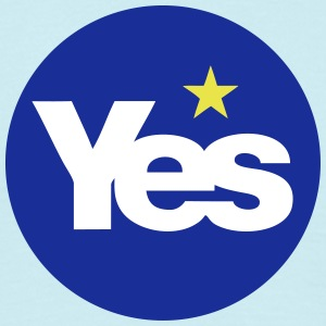 YES to Scottish Independence (Scotref)  - Men's T-Shirt