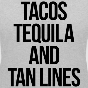 Tequila And Tan Lines Funny Quote T-Shirts - Women's V-Neck T-Shirt
