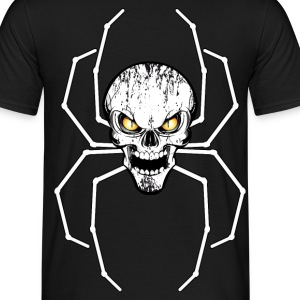 spider skull 05 Tee shirts - T-shirt Homme