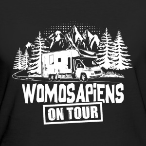 Womosapiens on Tour T-Shirts - Frauen Bio-T-Shirt