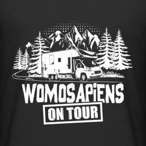 Womosapiens on Tour T-Shirts - Männer Urban Longshirt