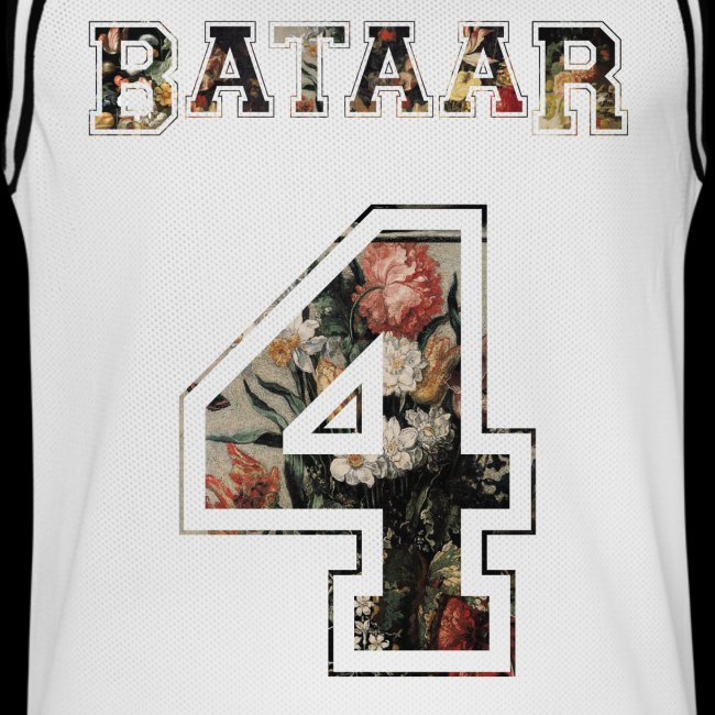 """FLORAL 4"" Sports Jersey"