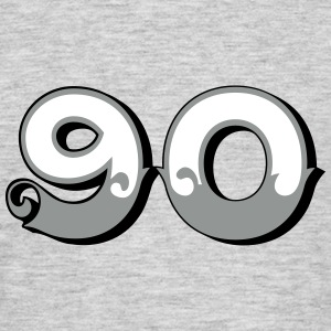 Fun Numbers 90 - 3C colorchange T-Shirts - Männer T-Shirt