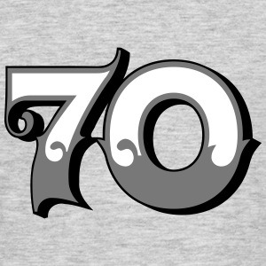 Fun Numbers 70 - 3C colorchange T-Shirts - Männer T-Shirt