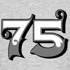 Fun Numbers 75- 3C colorchange T-Shirts - Männer T-Shirt