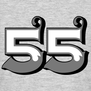 Fun Numbers 55 - 3C colorchange T-Shirts - Männer T-Shirt