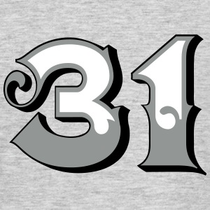 Fun Numbers 31 - 3C colorchange T-Shirts - Männer T-Shirt