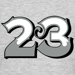 Fun Numbers 23 - 3C colorchange T-Shirts - Männer T-Shirt