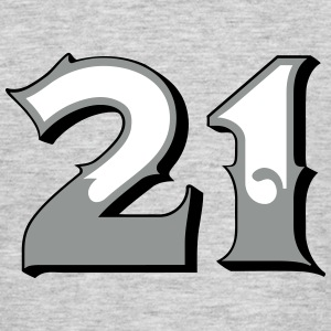 Fun Numbers 21 - 3C colorchange T-Shirts - Männer T-Shirt