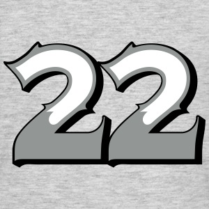 Fun Numbers 22 - 3C colorchange T-Shirts - Männer T-Shirt