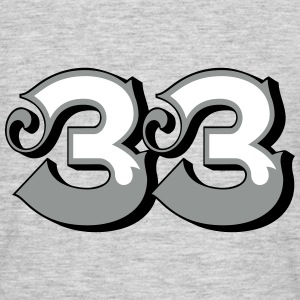 Fun Numbers 33 - 3C colorchange T-Shirts - Männer T-Shirt